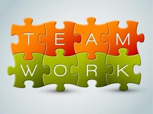 bigstock-Vector-puzzle-teamwork-illustr-32180459