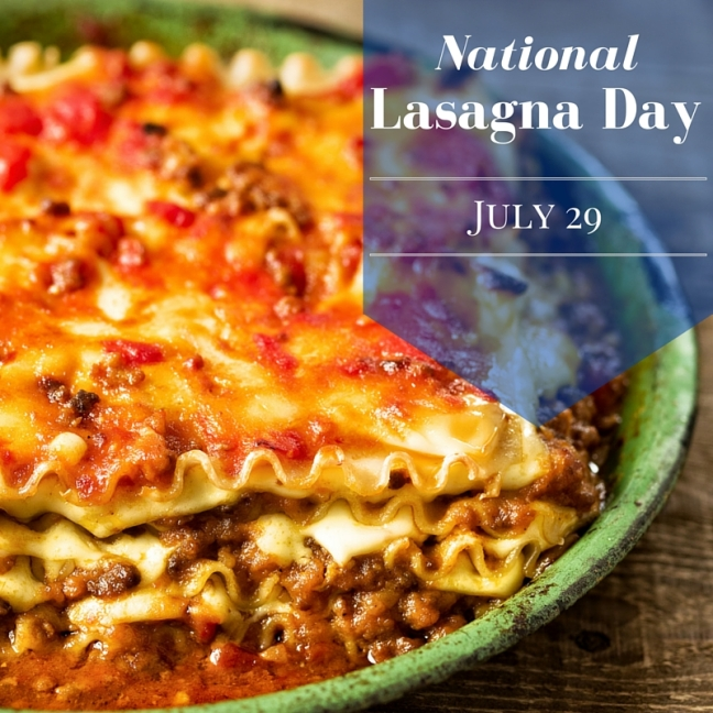 National Lasagna Day SM